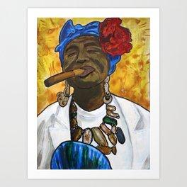 Ache Pa Ti Art Print