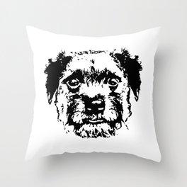 BORDER TERRIER DOG Throw Pillow