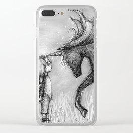 Enchantment of the Unicorn Clear iPhone Case