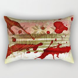 Halloween Abstract Rectangular Pillow