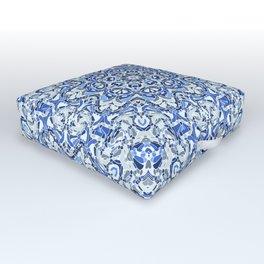 Cool Breeze Mandala Outdoor Floor Cushion