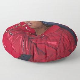 megan thee stallion Floor Pillow