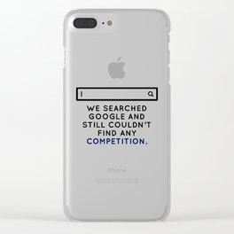 Champion Winner Zenith Best Top Number One Uno Ace Boss Clear iPhone Case