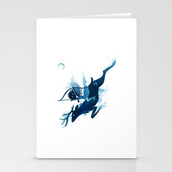Elf Archer Stationery Cards