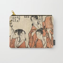 Going to a Sumo Match Carry-All Pouch