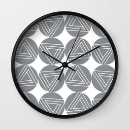 Impossible Triangles Wall Clock