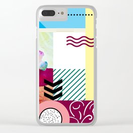 Wonder of Color Clear iPhone Case