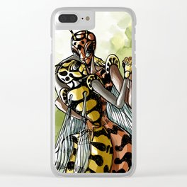 wasps couple Clear iPhone Case