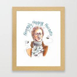 Hammy's Happy Hornets Framed Art Print