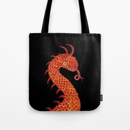 Dragon Portrait Tote Bag