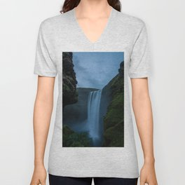 Cascading Waterss Unisex V-Neck