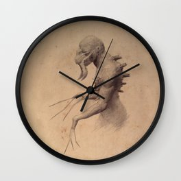Creature 2 Wall Clock