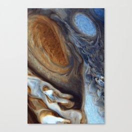 liver-spotted king | space #02 Canvas Print