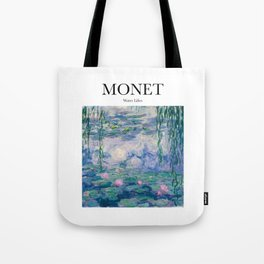 Monet - Water Lilies Tote Bag