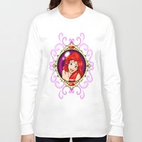 ariel Long Sleeve T-shirts featuring ariel by Dan Solo Galleries