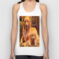 mom Tank Tops featuring Mom by Robin Curtiss