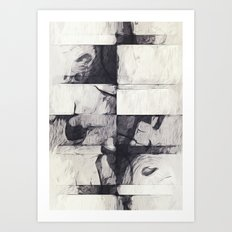 Made of Stone Art Print