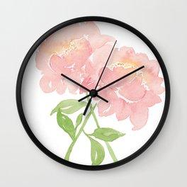 Peony Partners Wall Clock