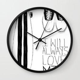 I will always love MTL Wall Clock
