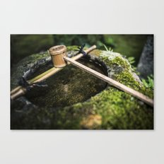 The Purifying Water Canvas Print