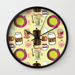 I Like Coffee II Wall Clock