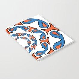 abstract mandala tribal Notebook