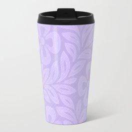 Japanese Floral Lavender Travel Mug