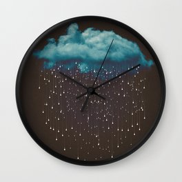 Let It Fall Wall Clock