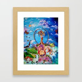 Anthropocosm Framed Art Print