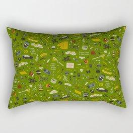 Moonrise Kingdom Plot Pattern Rectangular Pillow