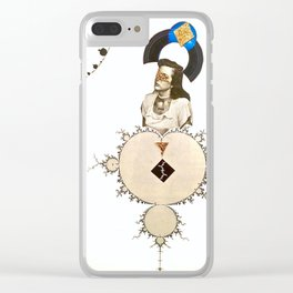 Seek and You Shall Find Clear iPhone Case