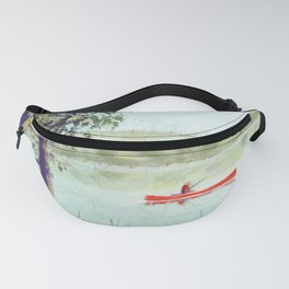 fishing - by phil art guy Fanny Pack