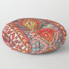 Kazak Southwest Caucasus Rug Print Floor Pillow