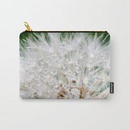 Dandelion Dew Drops Carry-All Pouch