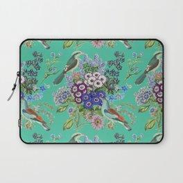 Biscay Green Garden Laptop Sleeve