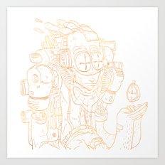 Traveler V2 Art Print