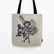 Leisure Burns Tote Bag