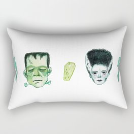 Frank and Bride Rectangular Pillow