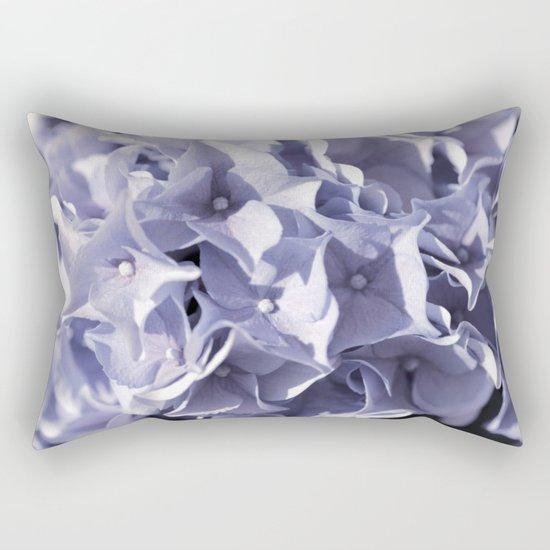 Delightful lilac hydrangea- Flower Floral Rectangular Pillow