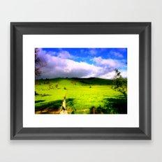 Alpine Country Framed Art Print