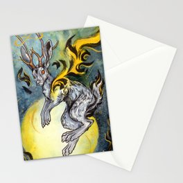 the Jackalope Stationery Cards