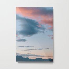 Alaskan Mountain Dawn III Metal Print