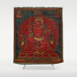 Kurukulla - Tibetan Buddhism Shower Curtain