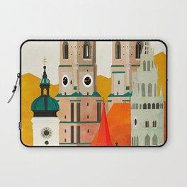 travel europe germany munich Laptop Sleeve