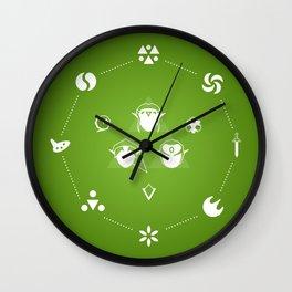 Zelda Ocarina of Time Wall Clock