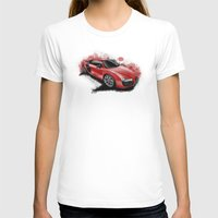 audi T-shirts featuring R8 V10 by an.artwrok