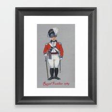 Royal Fusilier 1789 Framed Art Print