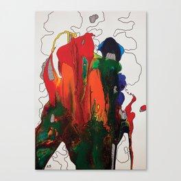 Abstract by Azam Sadeghi Canvas Print