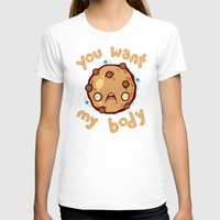 cookie T-shirts featuring Kinky Cookie by Artistic Dyslexia