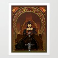 gryffindor Art Prints featuring Gryffindor by luvami